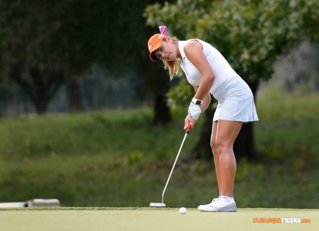 Tigers Improve to Second Place at Clemson Invitational
