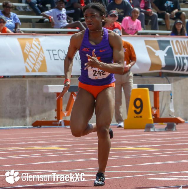 Robinson Sets 100m All-Conditions Program Record Saturday