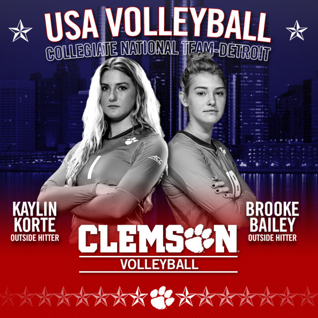 Bailey, Korte Named to Team USA's Collegiate National Team-Detroit