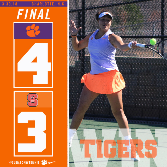 Clemson Comes from Behind for Thrilling Win over NC State Friday