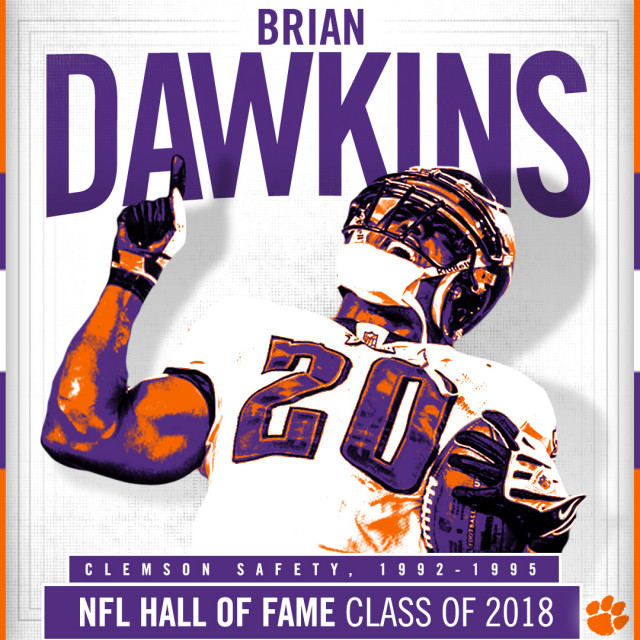 Dawkins Named to NFL Hall of Fame Class