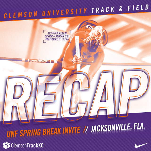 T&F Tallies 13 First-Place Finishes at UNF Invite Friday