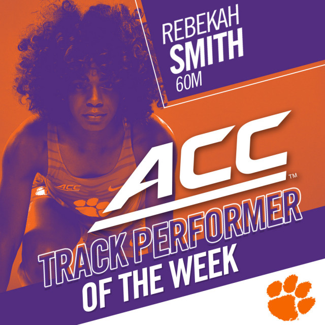 Smith Earns ACC Weekly Honors