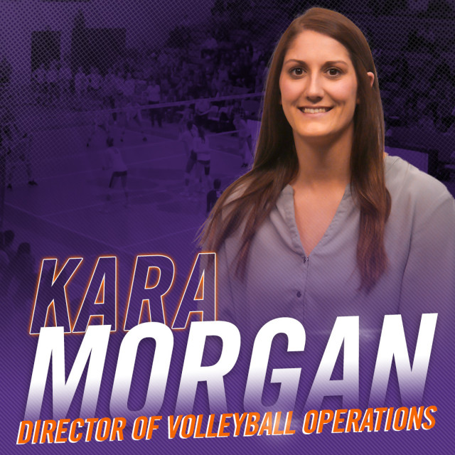 Volleyball Names Kara Morgan Director of Ops
