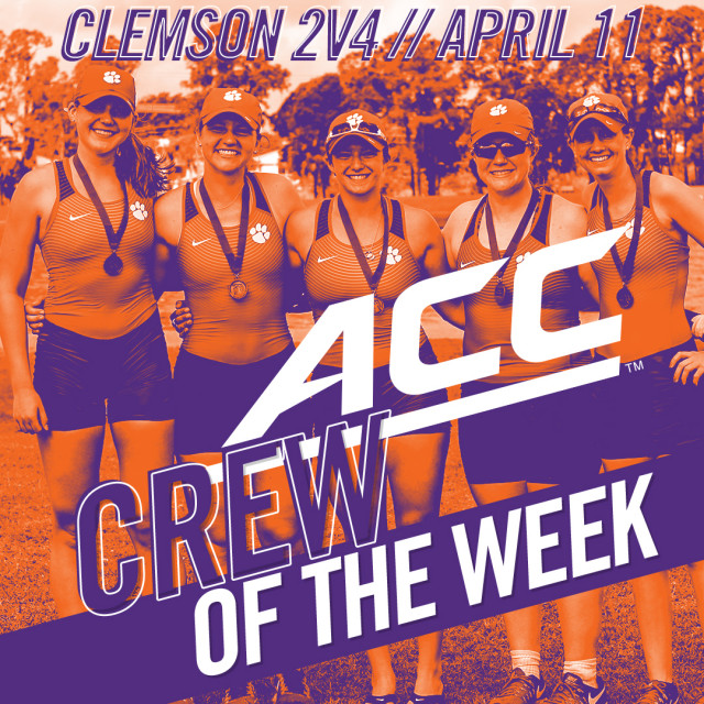 Tiger 2V4 Named ACC Crew of the Week