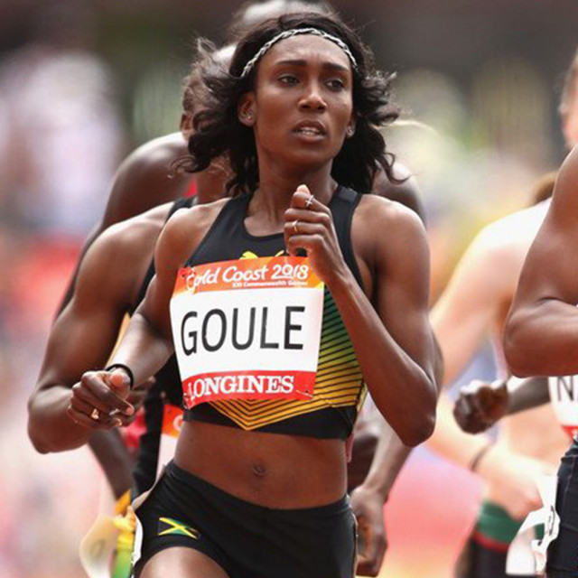 Goule, Williams Medal at 2018 Common-<br>wealth Games
