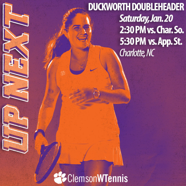 Clemson Faces Charleston Southern & Appalachian State in Charlotte Saturday