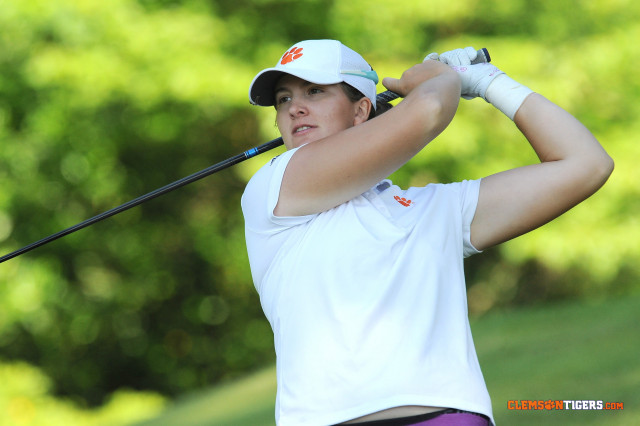 Clemson Just Seven Shots Off Lead at Bryan National