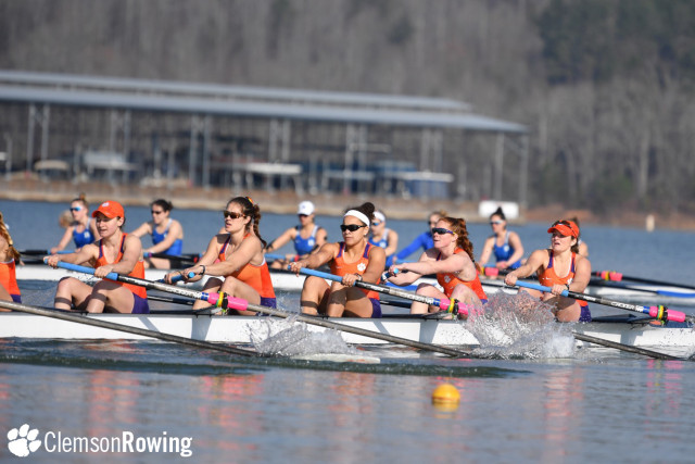 Rowing Hosts Carolina Cup to Open Spring