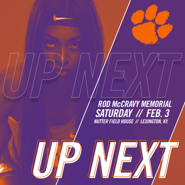 Tigers Head to Lexington for Rod McCravy Memorial