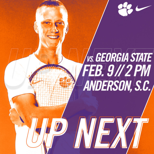 Tigers Host Georgia State Friday in Home Opener at AU Tennis Center