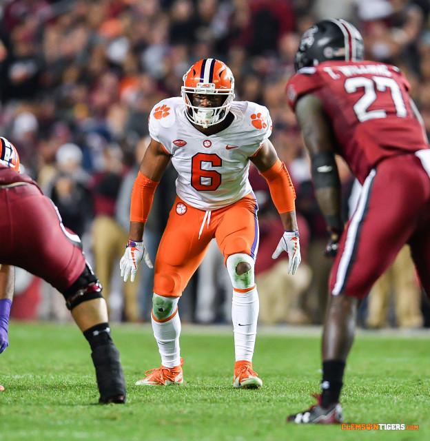 Five Tigers Headed to NFL Combine