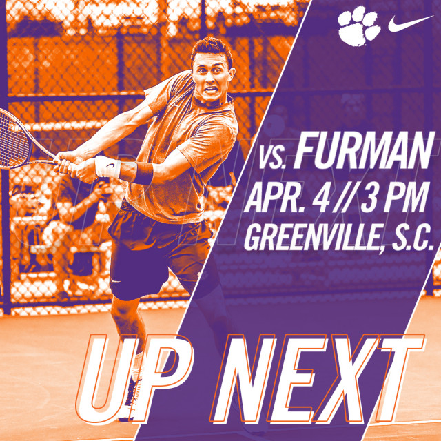 Clemson Faces Furman on Wednesday
