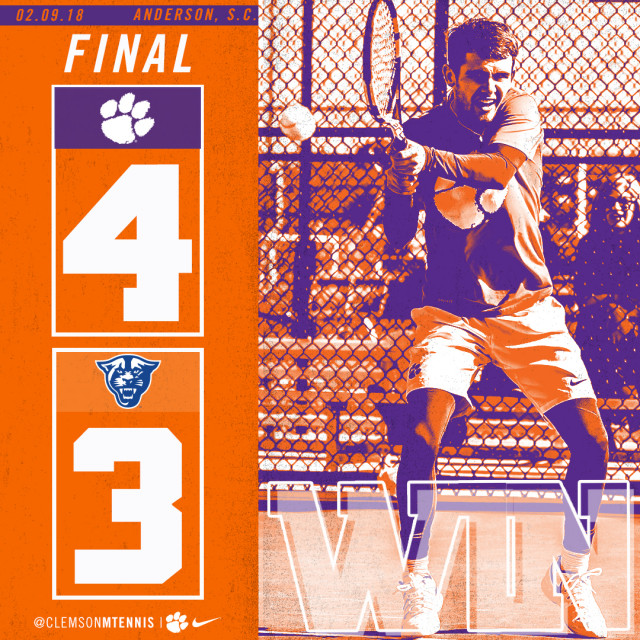 Clemson Edges Georgia State 4-3 on Friday Evening