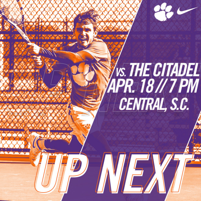 Clemson Set to Host The Citadel at SWU on Wednesday