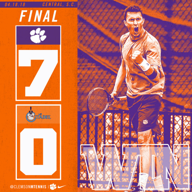Tigers Sweep Bulldogs 7-0 on Wednesday