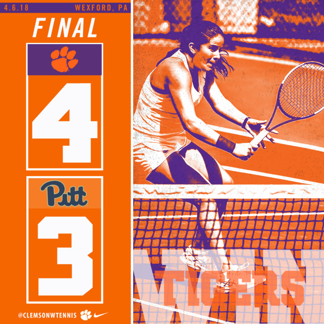 Clemson Claims ACC Road Win at Pittsburgh Friday