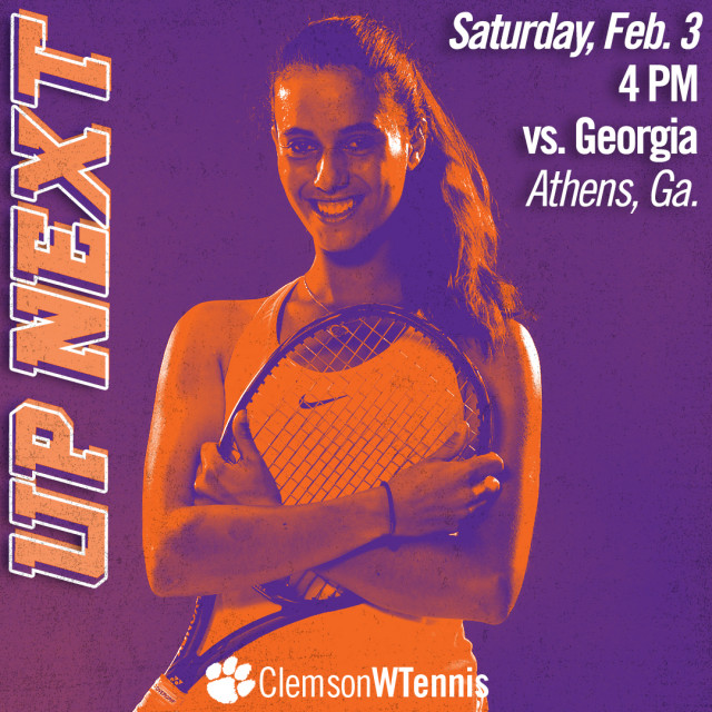Clemson Heads To Athens for Matchup with No. 4 Georgia