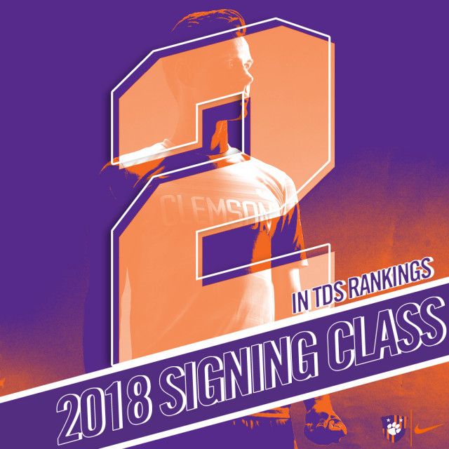 Men's Soccer's 2018 Signing Class Ranked Second in the Nation