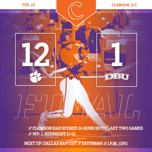 No. 11 CU Tops No. 10 DBU 12-1