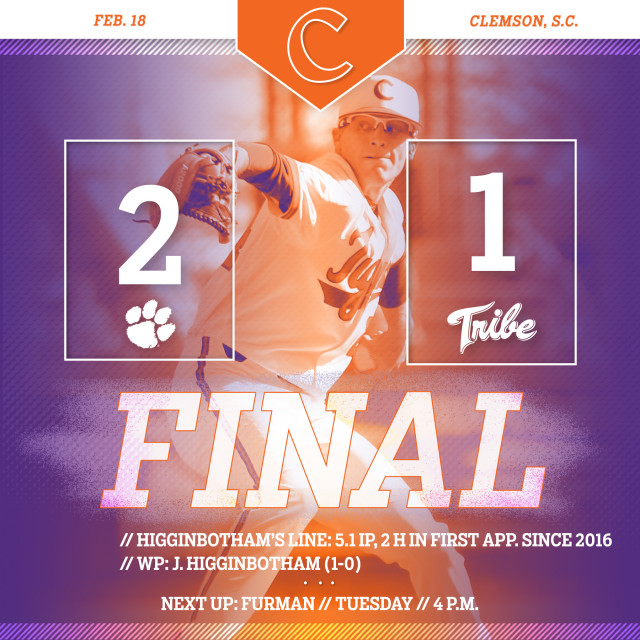 Tigers Sweep W&M With 2-1 Win