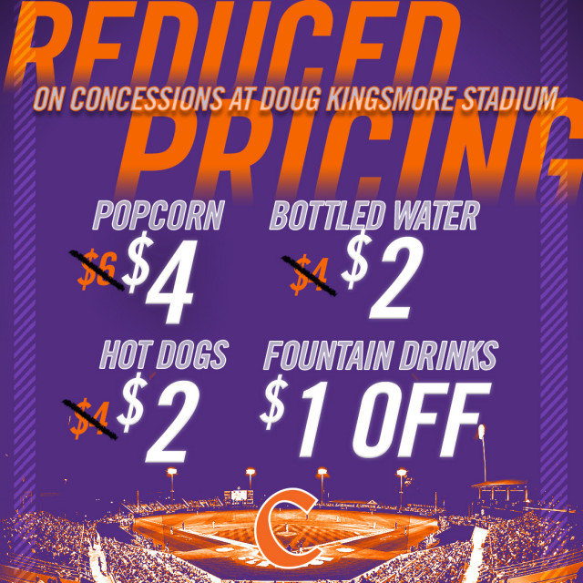 Reduced Concession Prices Offered at DKS in 2018