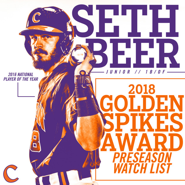 Beer Named to Golden Spikes Award Watch List
