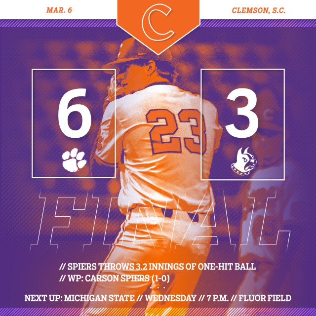 CU Rallies To Top Wofford 6-3