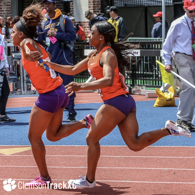 Women's 4x100m Qualifies for Friday's Finals at Penn Relays