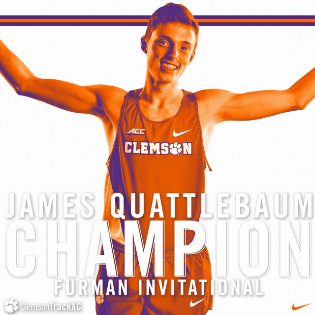 Quattlebaum Captures Furman Invitational Title