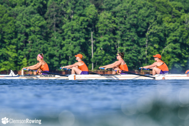 Clemson Places Sixth at ACC Rowing Championship