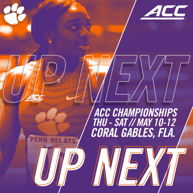 Track & Field Set For ACC Championships