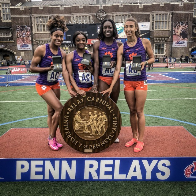 Women's SMR Wins Penn Relays' COA Invitational Friday