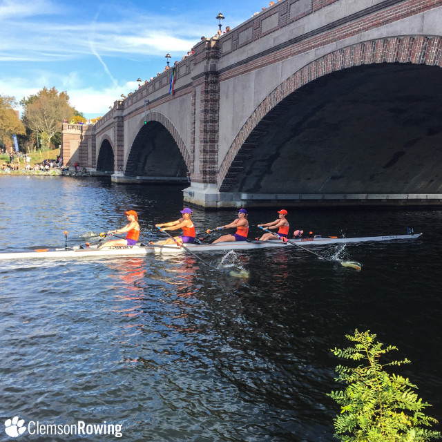Clemson Posts Top-10 Finish at Head of the Charles