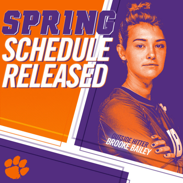 Volleyball Announces 2018 Spring Schedule