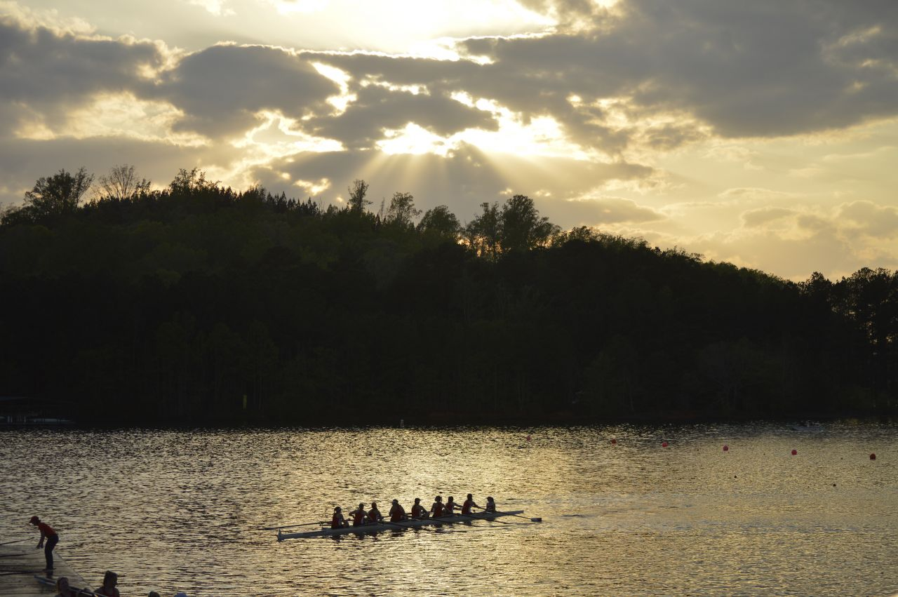 Rowing Completes Day One of Clemson Invitational