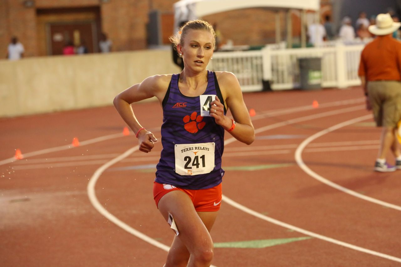 Morris Leads Tigers' Distance Group at Mt. SAC Relays
