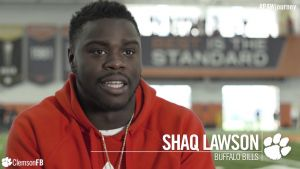 Play video: Clemson Football || P.A.W. Journey: Shaq Lawson