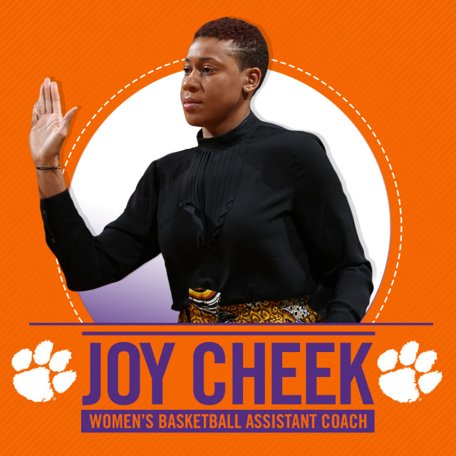 Joy Cheek Joins WBB Coaching Staff