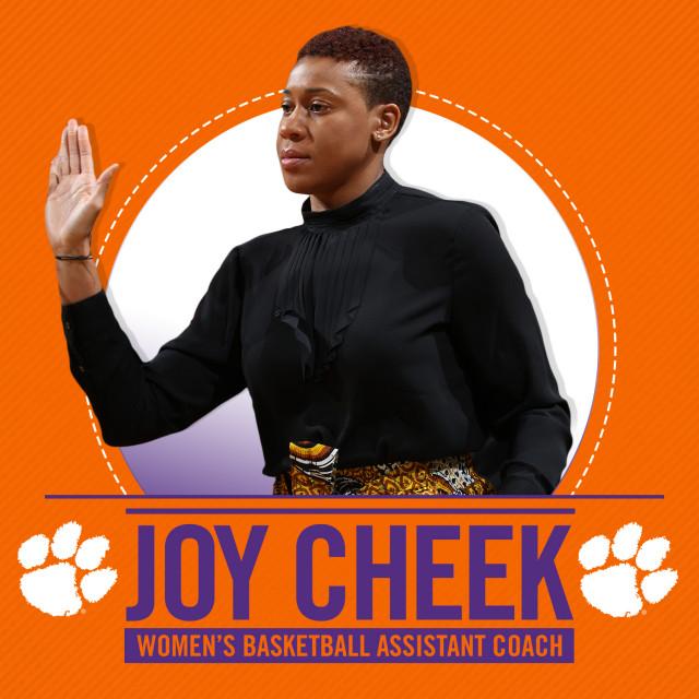 Joy Cheek Joins WBB Coaching Staff