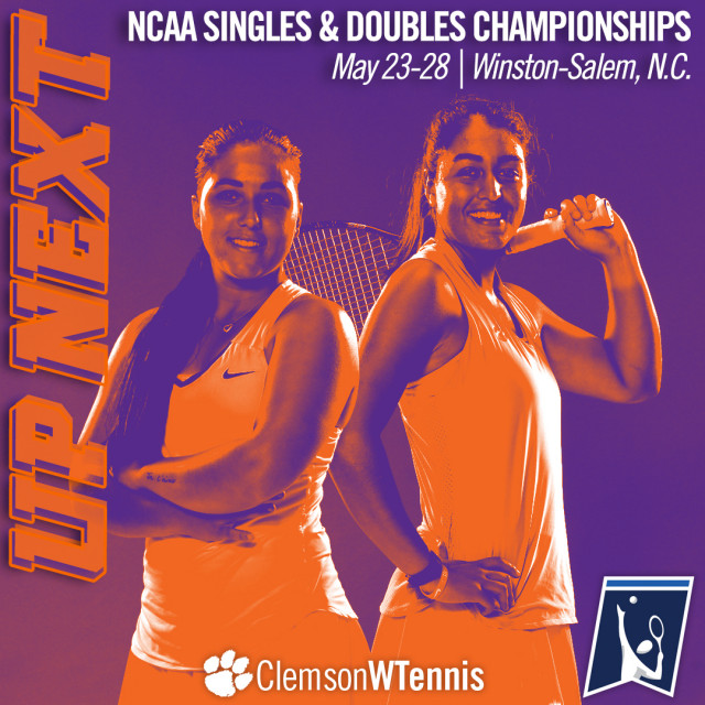Leduc & Navarro Open Play in NCAA Singles & Doubles Championships This Week