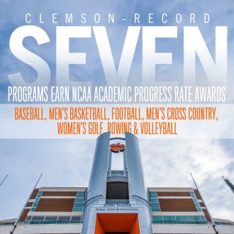 Clemson Earns School Record 7 NCAA APR Awards