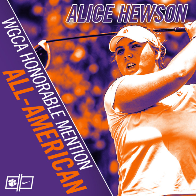Hewson Named All-American