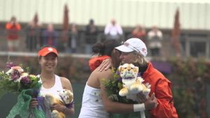 Clemson Women's Tennis || An Emotional Senior Day