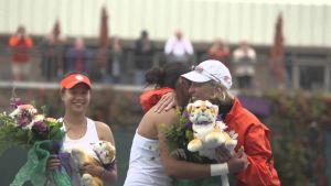 Play video: Clemson Women's Tennis || An Emotional Senior Day