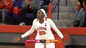 Clemson Women's Basketball || Jacksonville State Highlights, 12/17/17