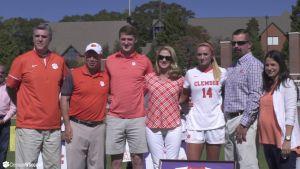 Clemson Women's Soccer || Senior Day Highlights, 10/23/16