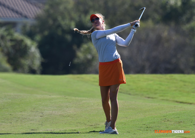 Clemson Finishes 11th at Betsy Rawls