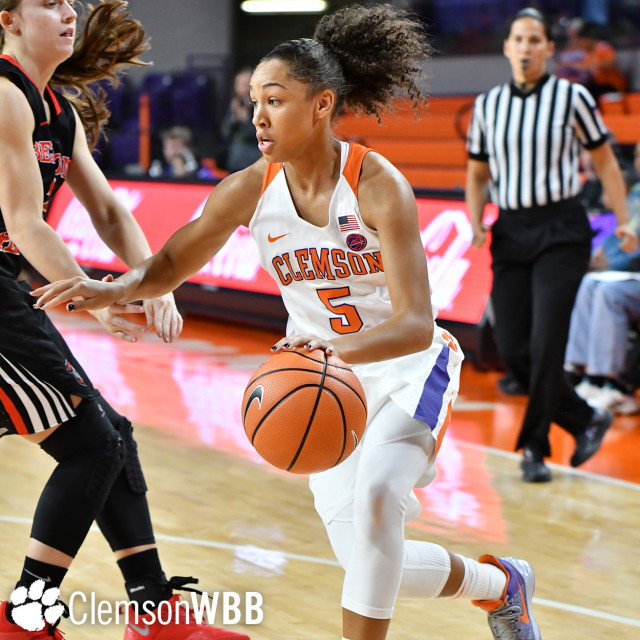 Edwards' Strong Second Half Propels Tigers to Exhibition Win over Belmont Abbey Sunday