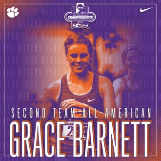 Barnett Earns All-American Accolades Saturday